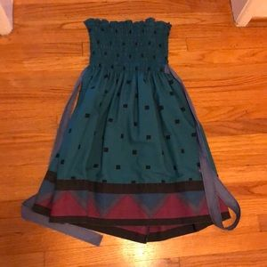 Urban Outfitters 80s style tube top dress/top